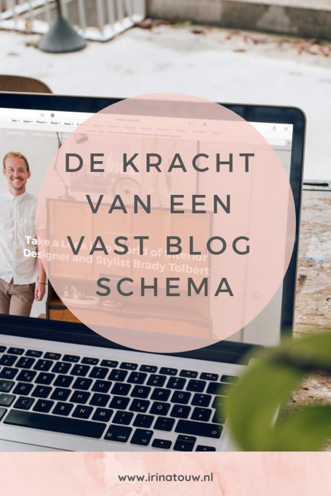 Blogtips #5 - De kracht van een vast uploadschema