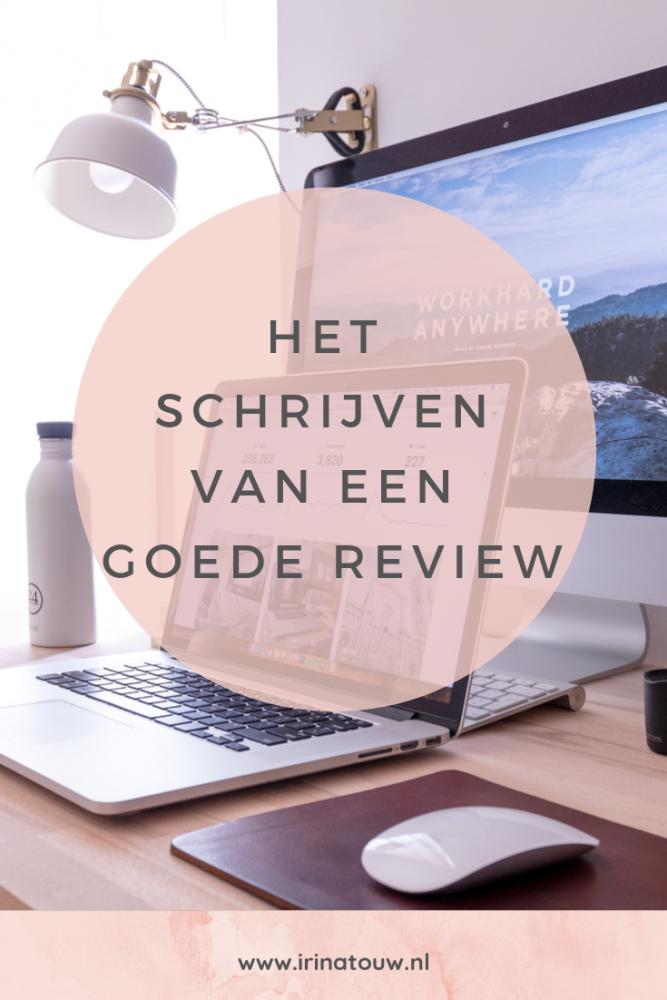 Blogtips #8 - Het schrijven van een goede review
