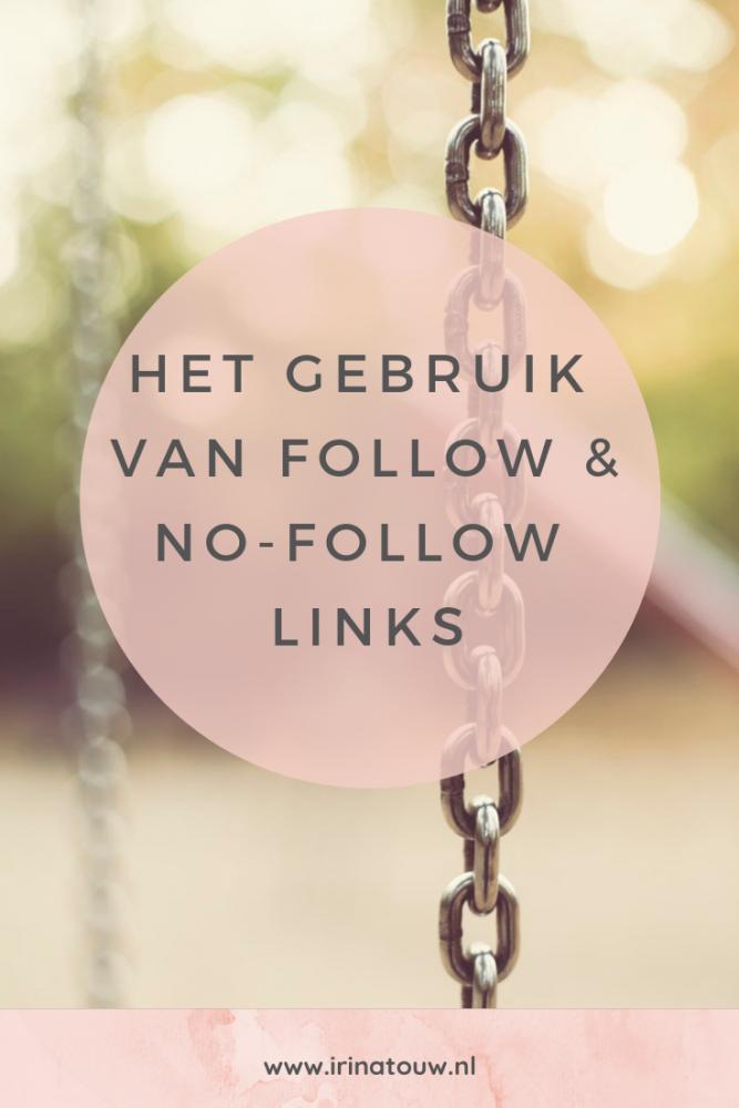 Blogtips #10 - Het gebruik van no-follow en do-follow links