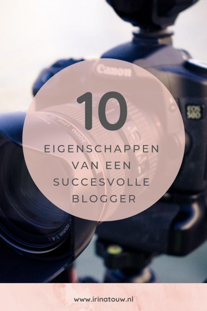 Blogtips #18 - De eigenschappen van een succesvolle blogger