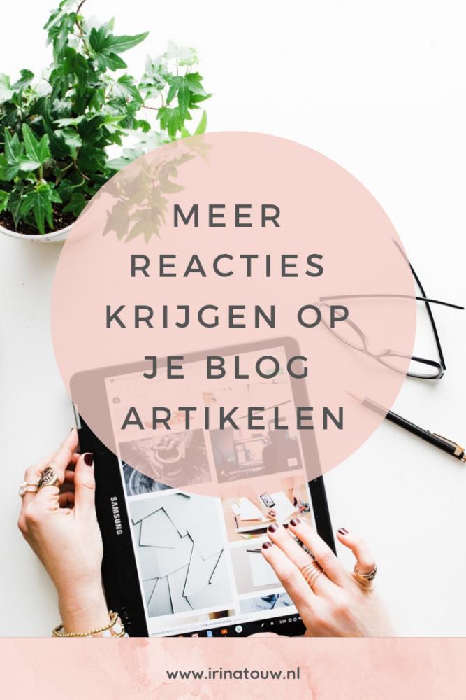 Blogtips #19 - Meer reacties krijgen op je artikelen