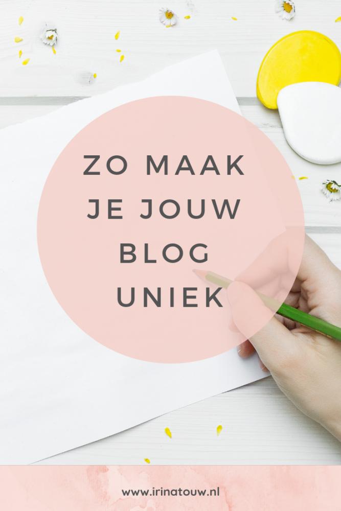 Blogtips #27 - Hoe maak je jouw blog uniek?