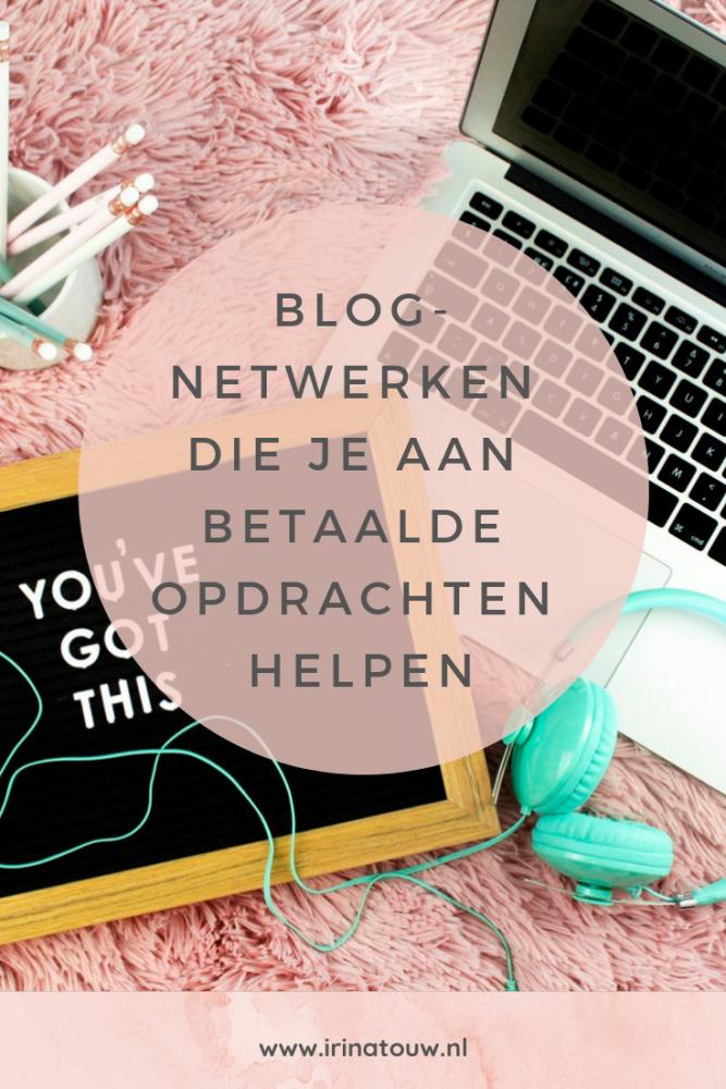 Blogtips #34 - Netwerken die je helpen aan betaalde opdrachten te komen