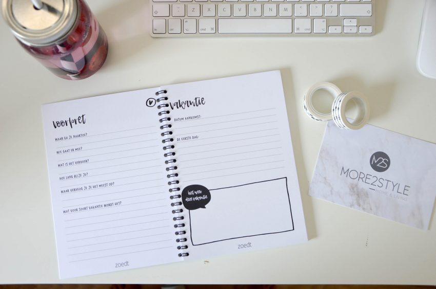 WINACTIE: More2Style pakketje met vakantiedagboek, mason jar & washitape