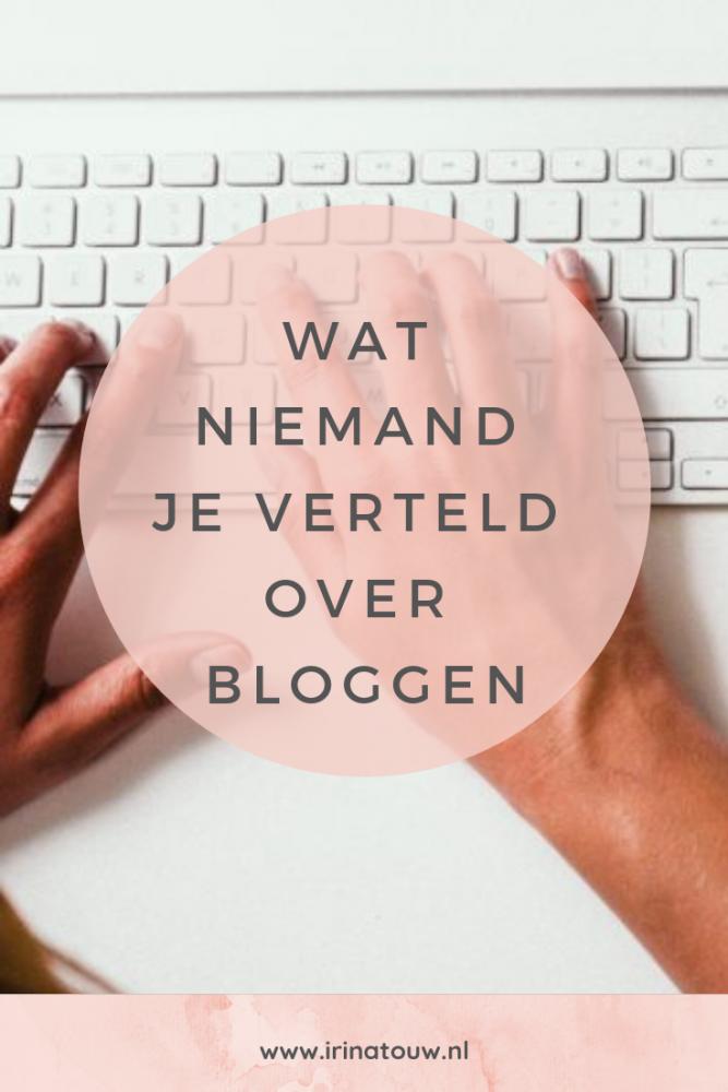 Blogtips #38 - Wat niemand je vertelt over bloggen