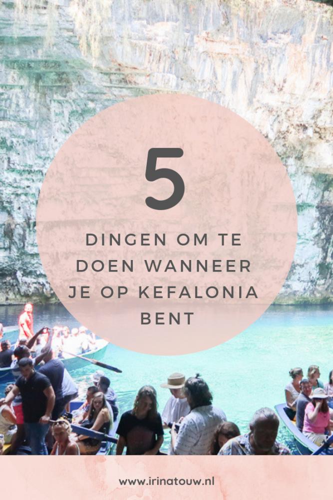 5 dingen om te doen wanneer je op Kefalonia bent