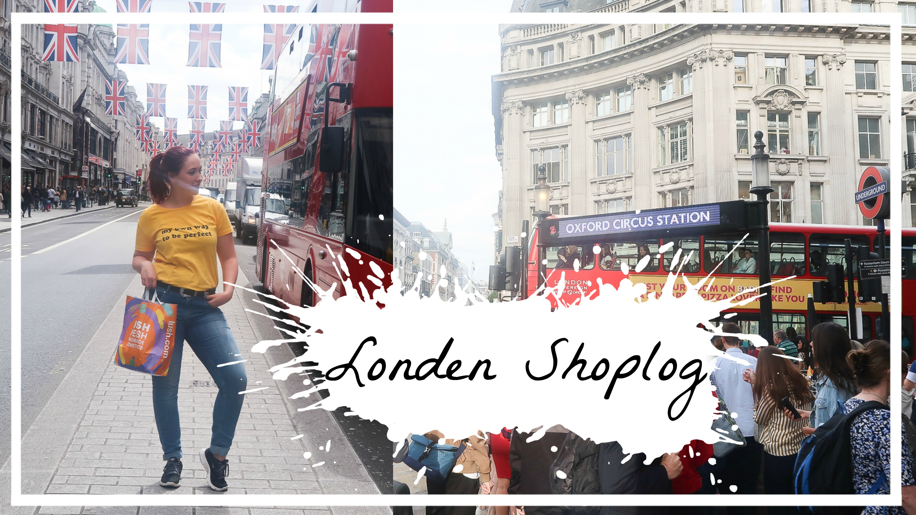 Londen pashokjes shoplog met o.a. New Look & Urban Outfitters
