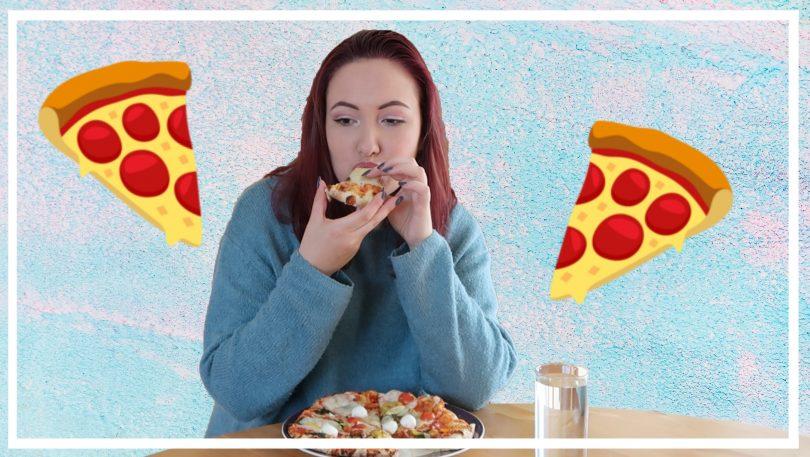 Pizza mukbang + persoonlijke update