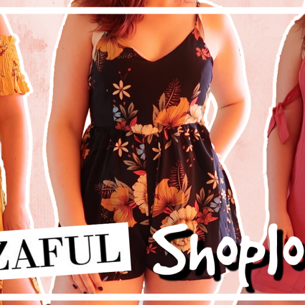 Try-on Zaful shoplog