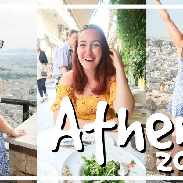 Acropolis, gevallen & verliefd worden op Athene // VAKANTIEVLOG #1 2018