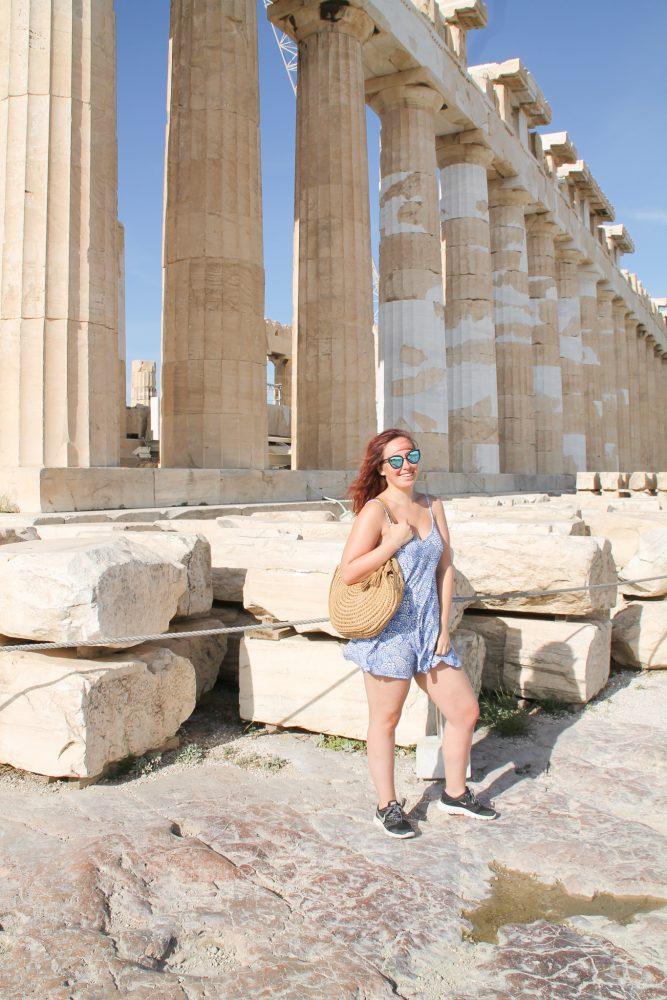 Athene, Milos en Santorini in outfit's