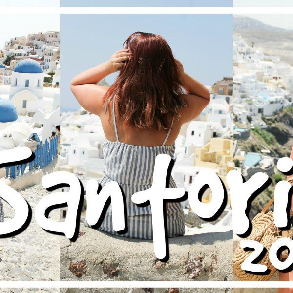 Instagram heaven op Santorini // VAKANTIEVLOG #3 2018