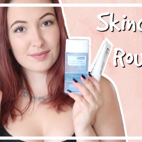 Mijn budget skincare routine voor de droge huid