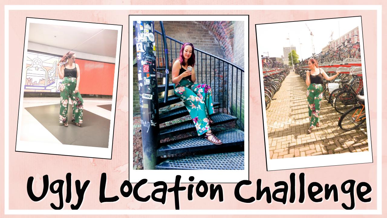 Ugly location photoshoot challenge