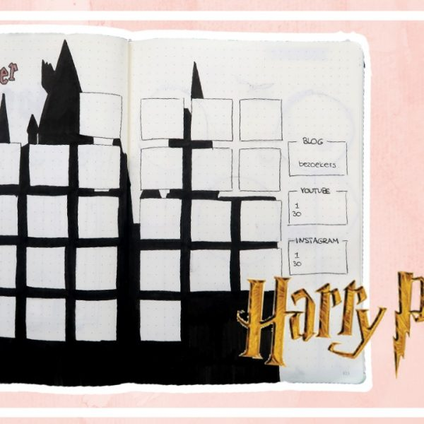 Bullet journal - november 2018 // Harry Potter thema