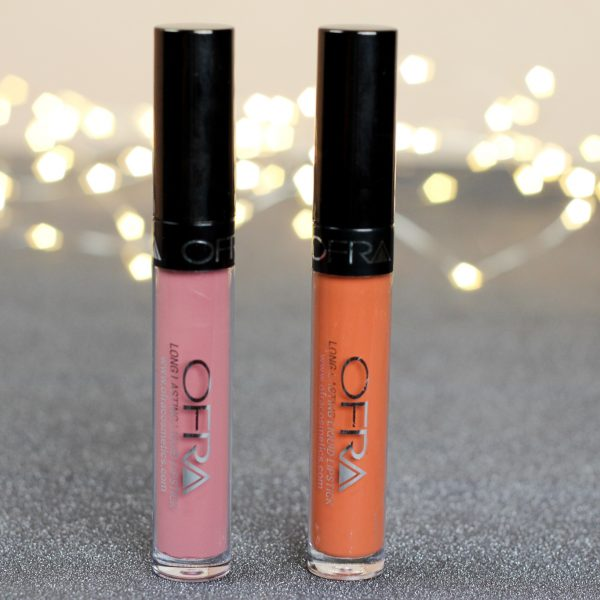 OFRA long lasting liquid lipsticks Dutchess & Miami Fever