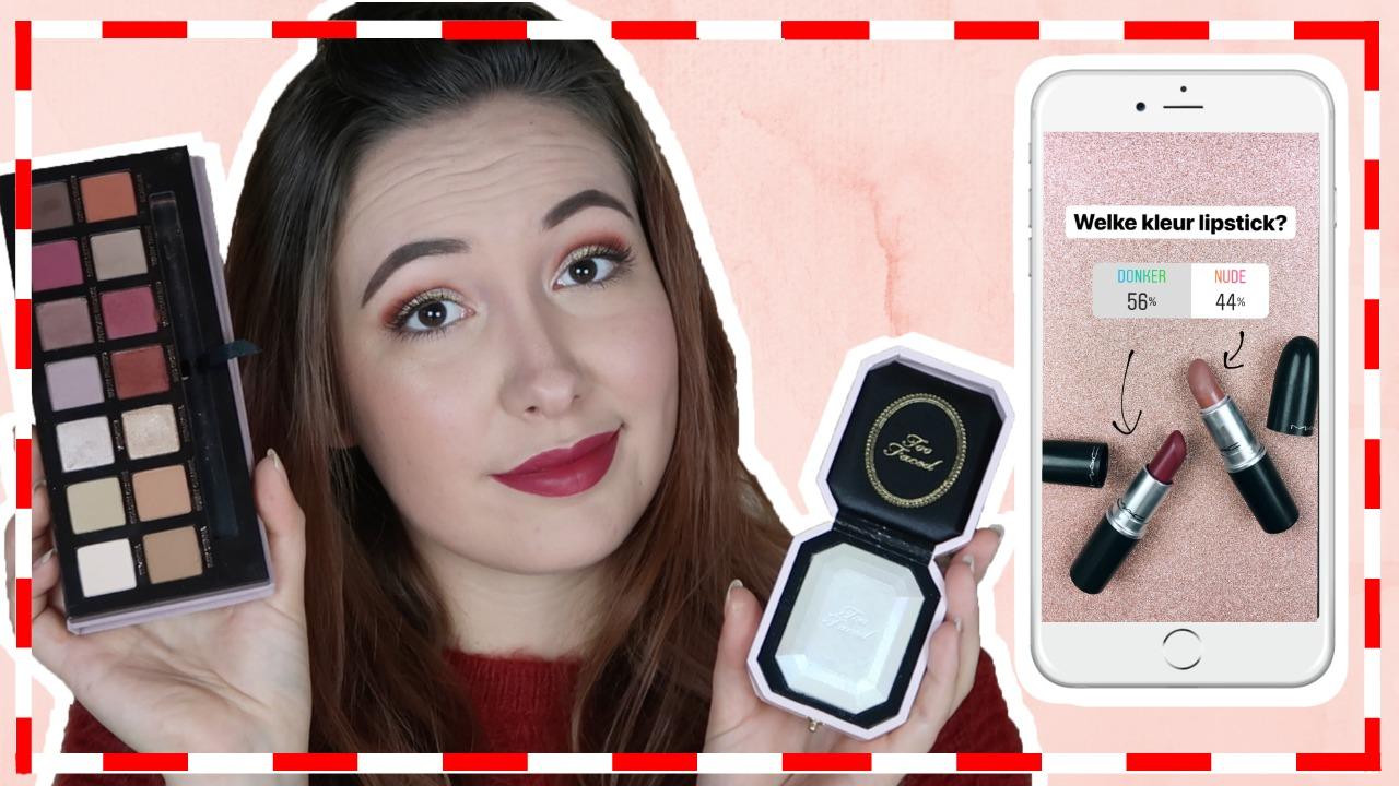 Mijn Instagram volgers bepalen mijn kerst make-up