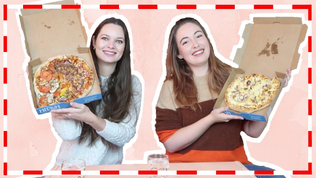 Pizza mukbang met Saartje de Leeuw