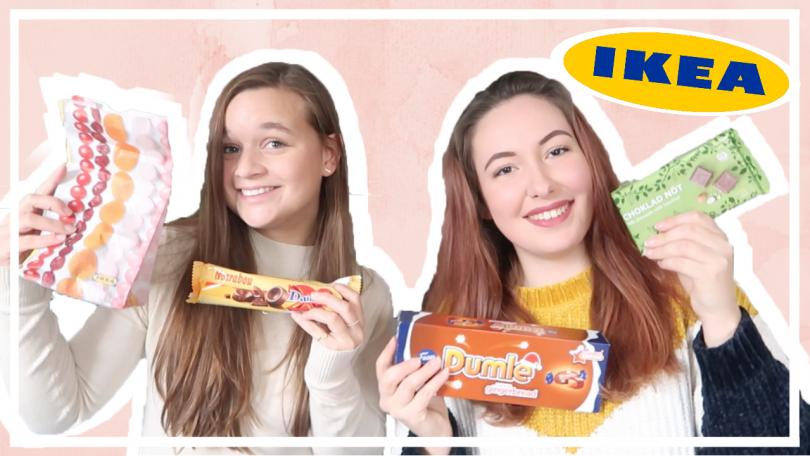 IKEA snoep proeven met Samantha van der Leest