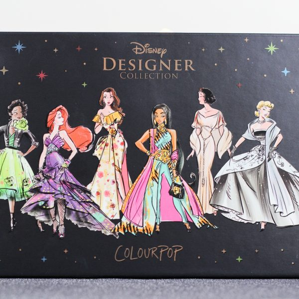 Colourpop Disney Designer oogschaduw palette It's a Princess Thing