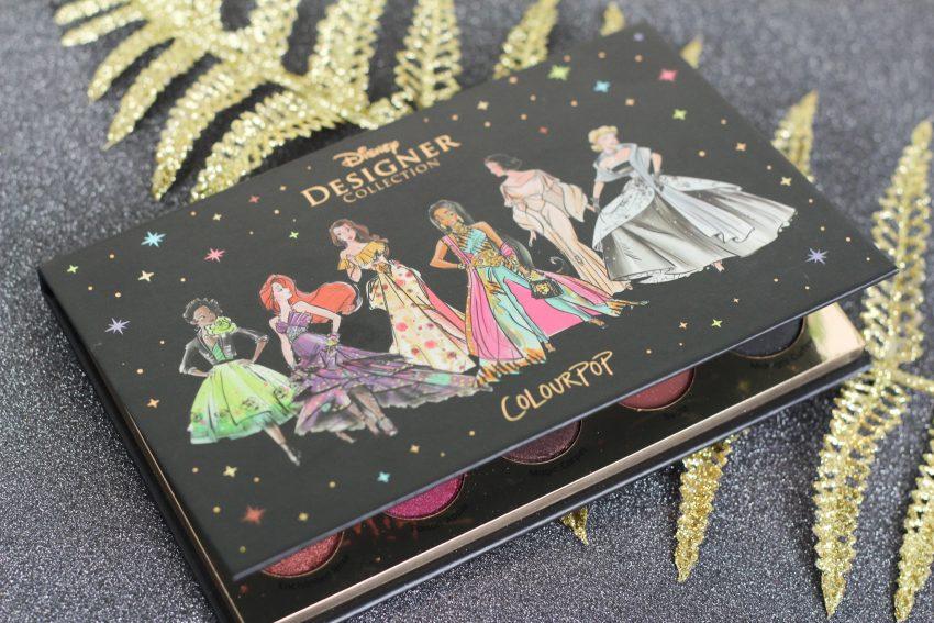 Colourpop Disney Designer oogschaduw palette It's a Princess Thing