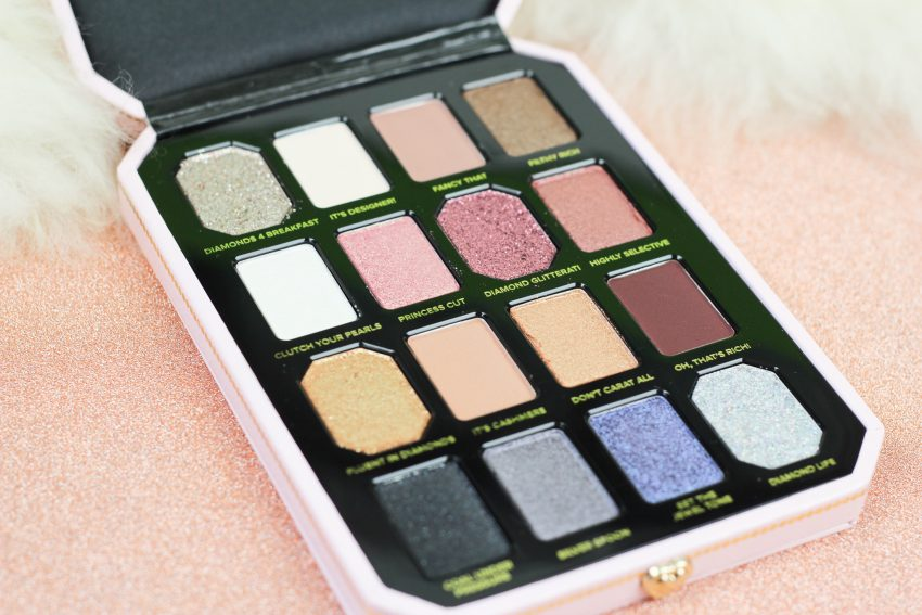 Too Faced Pretty Rich Diamond Light oogschaduw palette