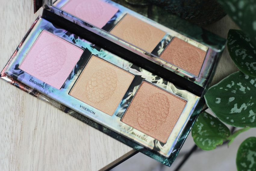 Urban Decay Game of Thrones collectie - Mother of Dragons highlight palette