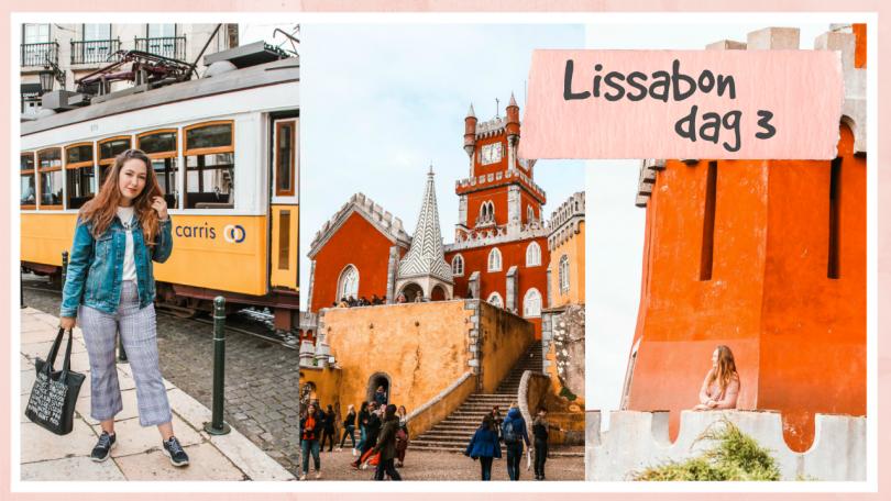 Tram 28, street food & naar Pena Palace in Sintra // Lissabon dag 3