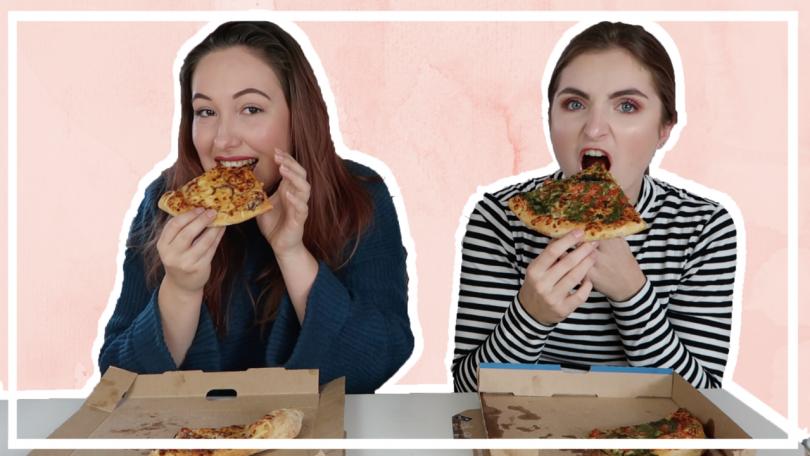 Pizza mukbang met Joyce Bastiaans