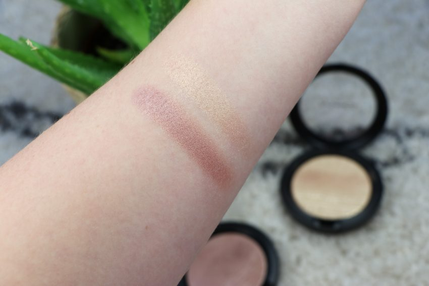 MAC Extra Dimension Skinfinish Suberb & Oh, Darling