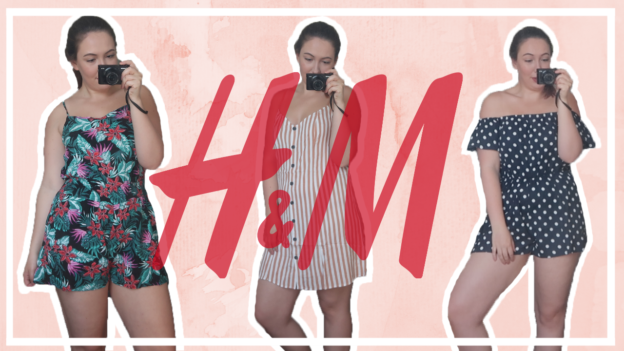 Mega try-on H&M shoplog - zomer 2019