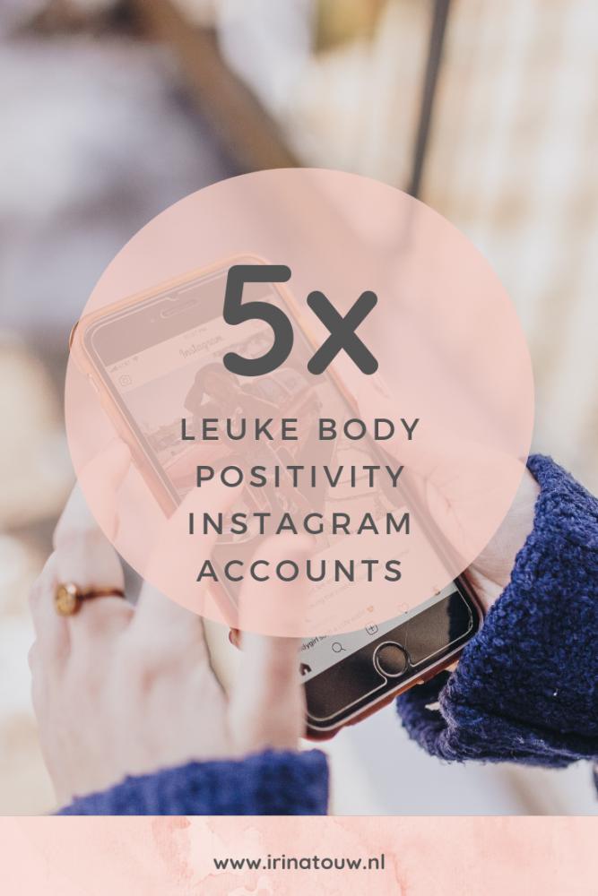 5x leuke body positivity Instagram accounts om te volgen