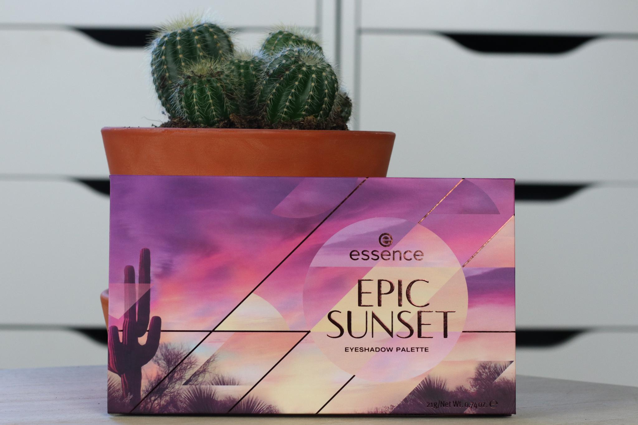 Essence Epic Sunset oogschaduw palette