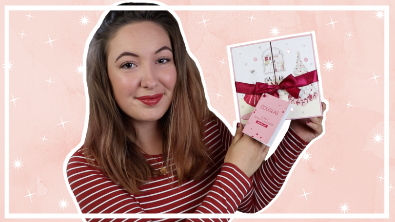 Douglas make-up adventskalender 2019 unboxing