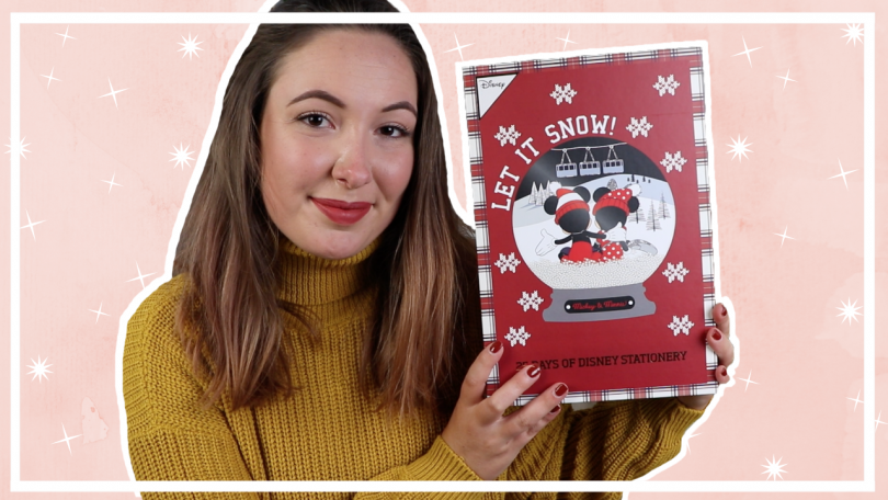 Primark Disney stationary adventskalender 2019 unboxing