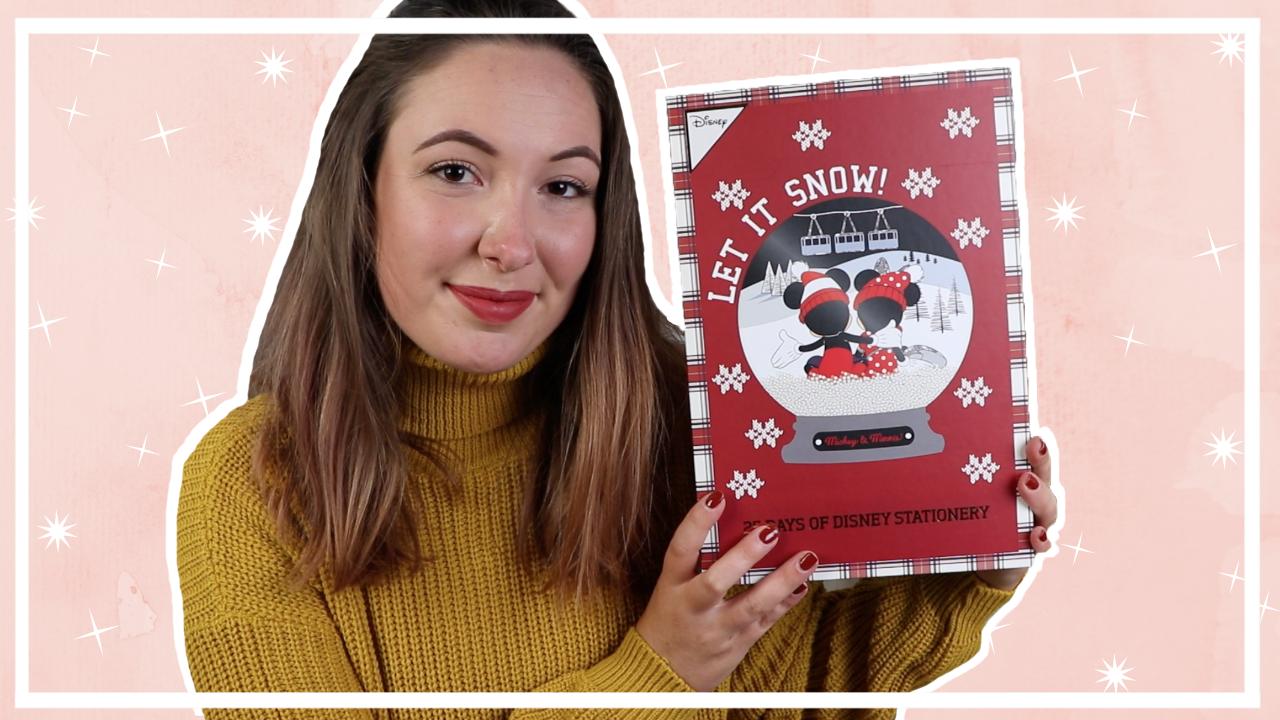 Primark Disney stationary adventskalender 2019 unboxing