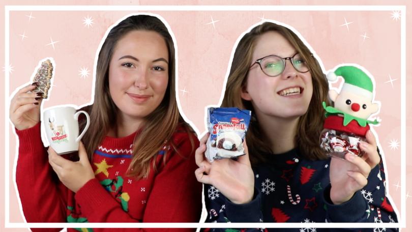 Kerst snoep proeven met Marijn van Trierum