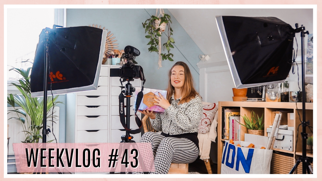 Kleine shoplog & update over Brownie // WEEKVLOG #43