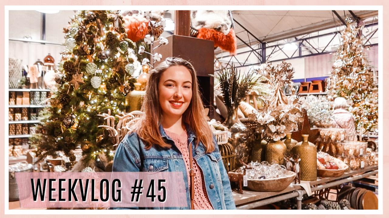 Oliebollen & naar een kerstshow + shoplog // WEEKVLOG #45