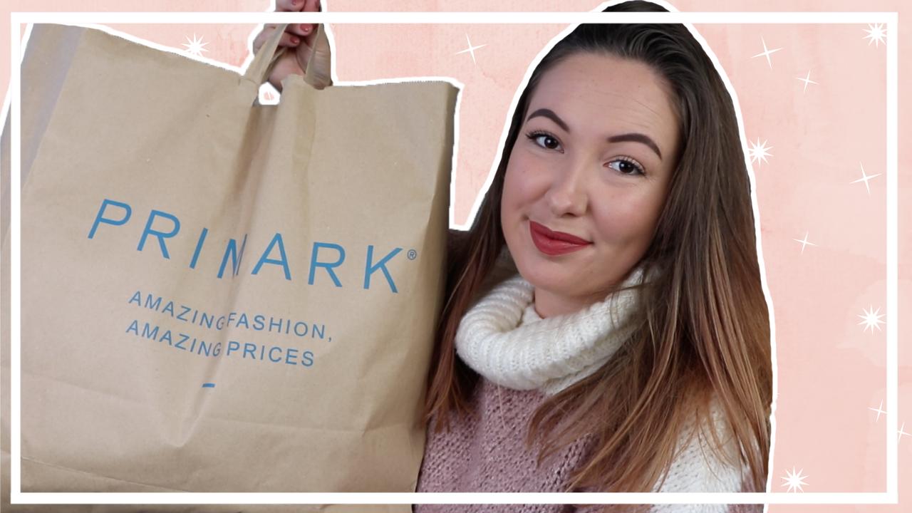 Primark kerst shoplog 2019