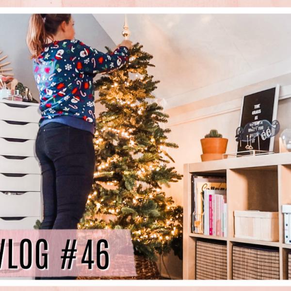 Kerstboom zetten & kamer decoreren // WEEKVLOG #46