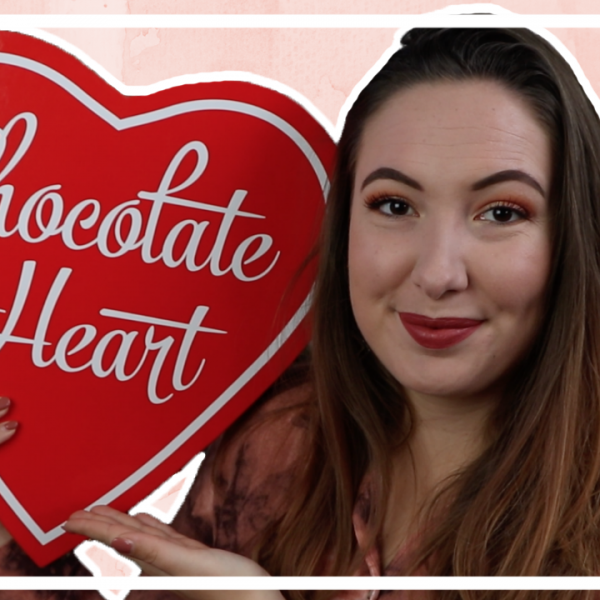 I heart Revolution Chocolate Heart testen 2019