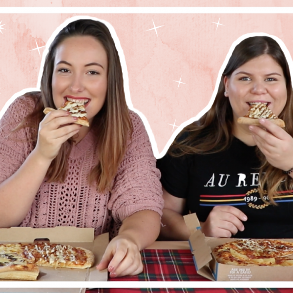Domino's Pizza mukbang met Danique