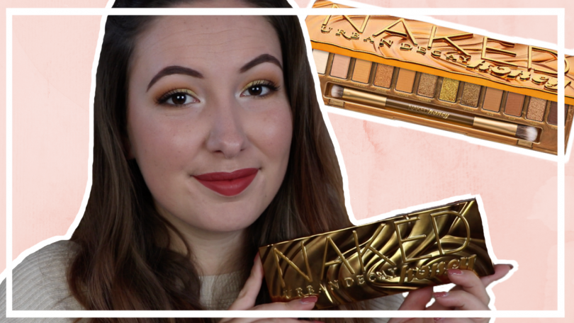 Urban Decay Naked Honey palette testen