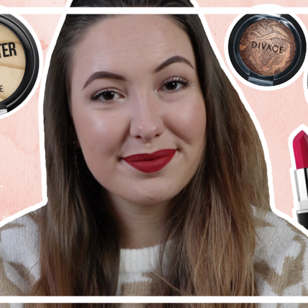 Divage make up testen // nieuw budget merk in NL