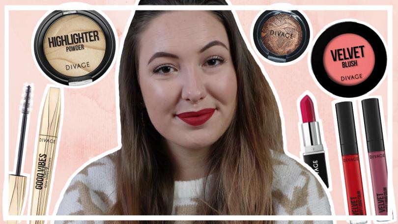 Divage make up testen // nieuw budget merk in NL