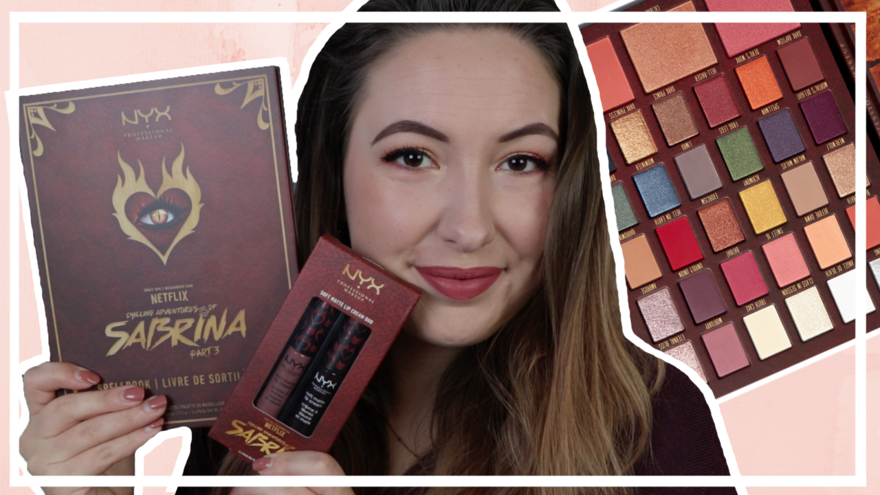 NYX Chilling Adventures of Sabrina collectie testen