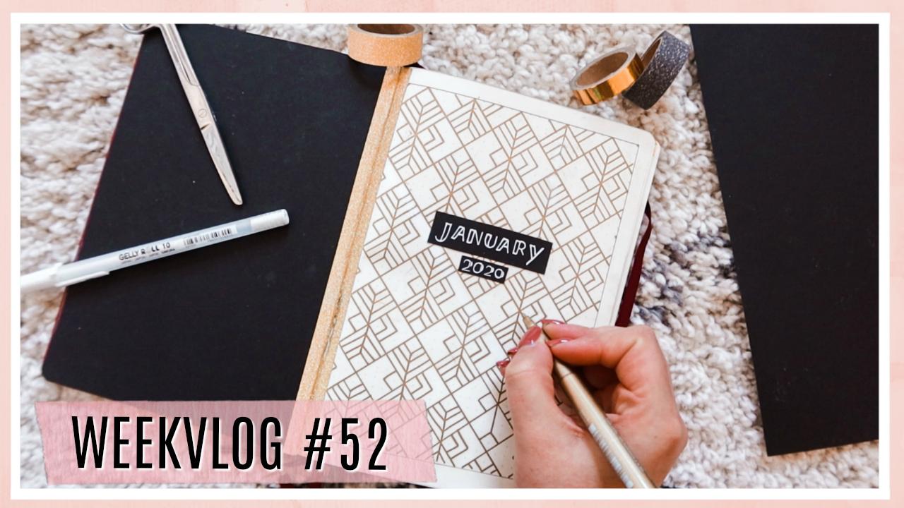 Opruimen, bullet journalen & sale shoplog // WEEKVLOG #52