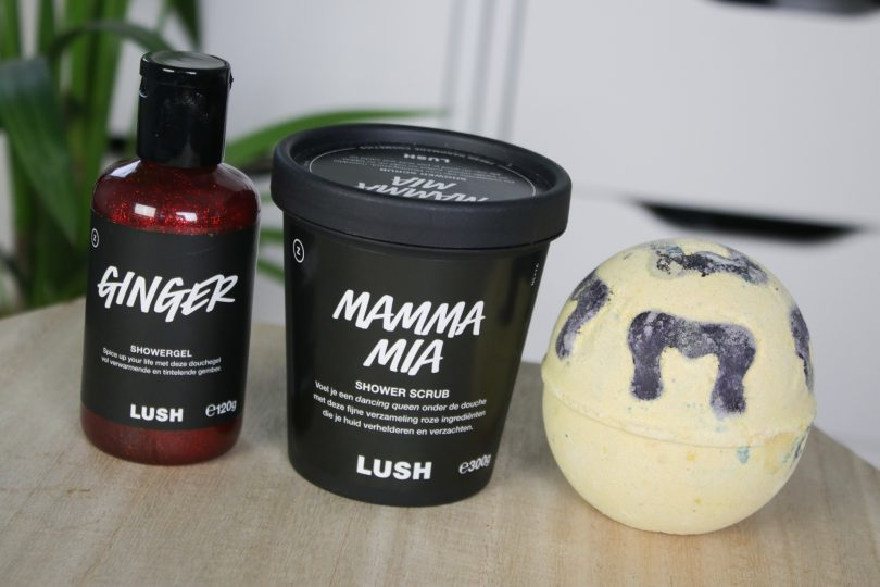 LUSH Moederdag 2020: Ginger showergel, Mamma Mia shower scrub & Blazin' Bad Zula bath bomb