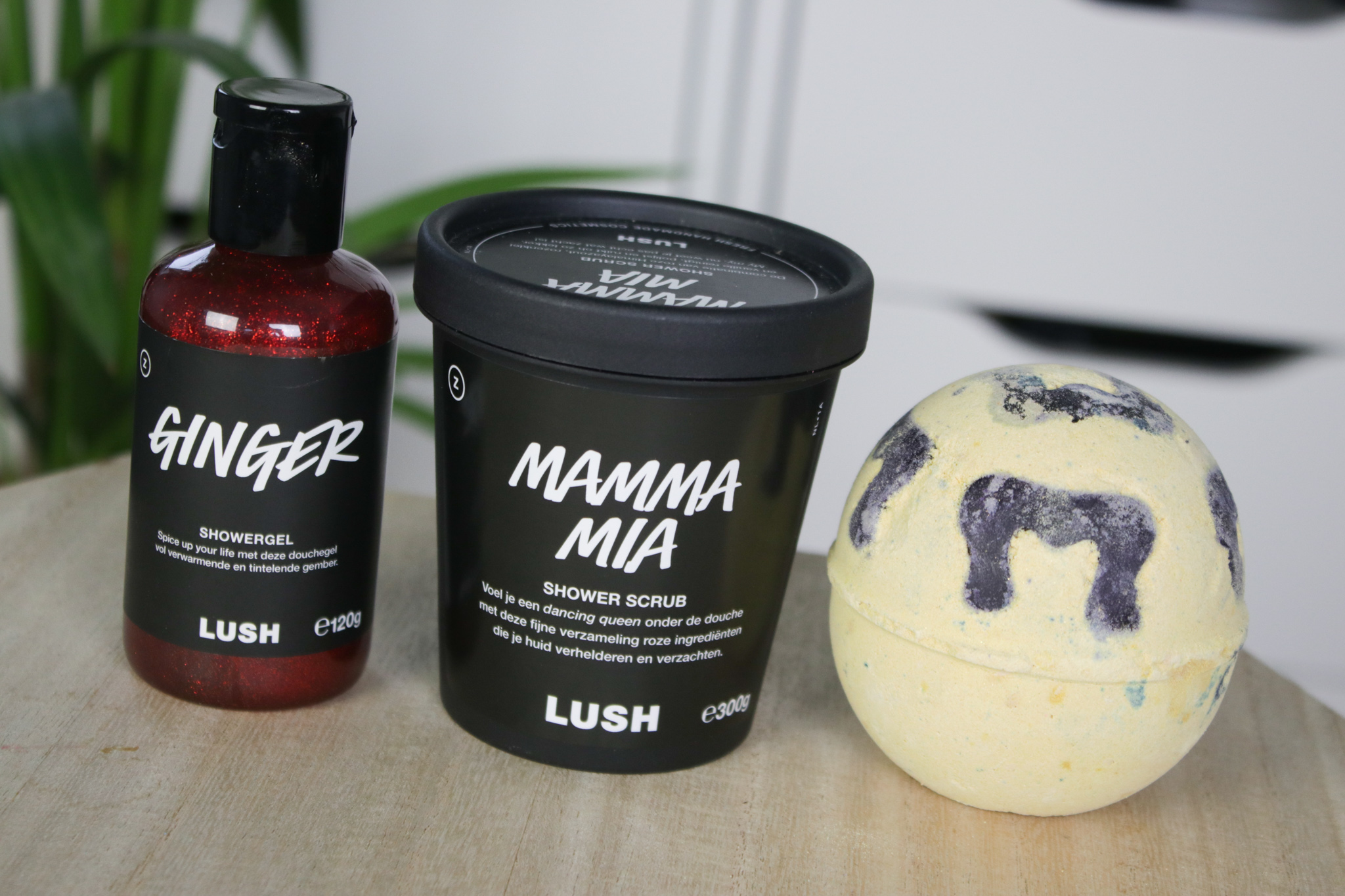 LUSH Moederdag 2020: Ginger showergel, Mamma Mia shower scrub & Blazin' Bad Zula bath bomb